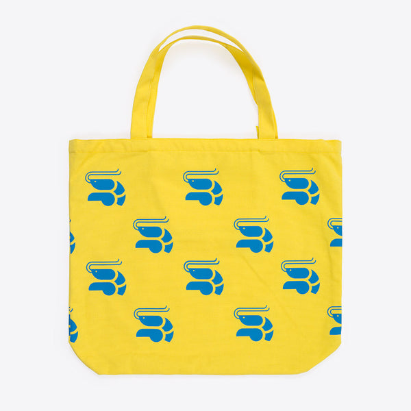 Krevetten XL-Strandtasche Gelb (Shrimp XL Beach Bag Yellow)