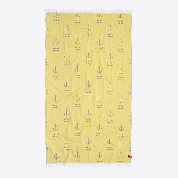 Anker Strandtuch Grün (Anchor Beach Towel Green)