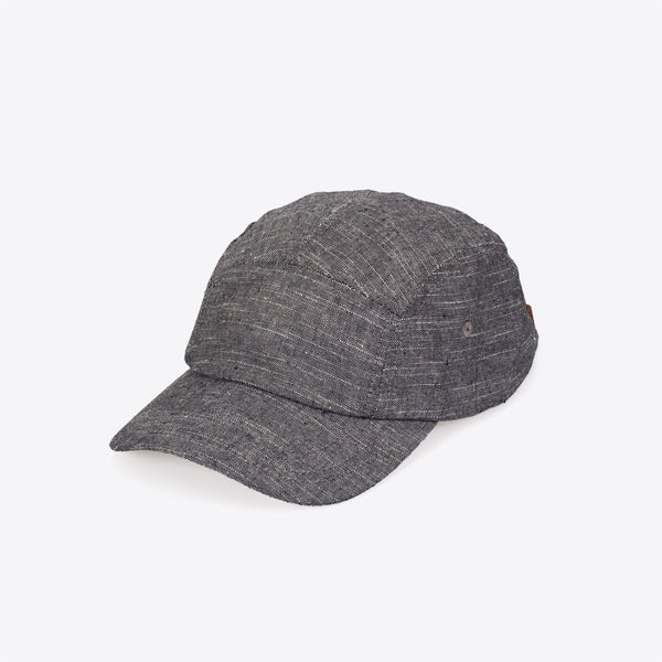 Chambray Camper Hat Charcoal