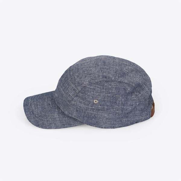 Chambray Camper Hat Navy