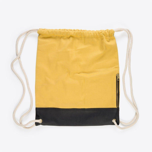 Kordel Rucksack Gelb (Classic Gym Bag Yellow)