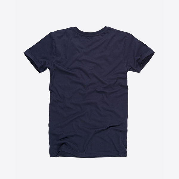 T-Shirt mit V-Ausschnitt Blau (Everyday Deep V-Neck T-Shirt Navy)