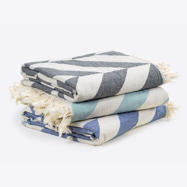 Fishbone Towel Denim