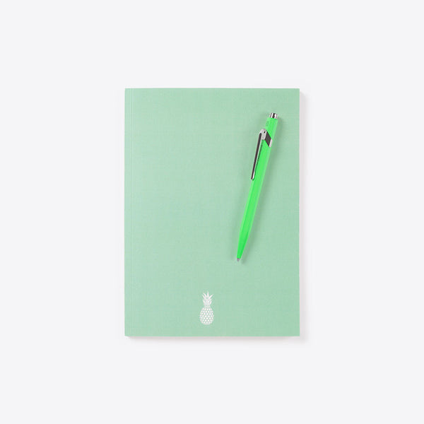 Pineapple Idea Book Mint