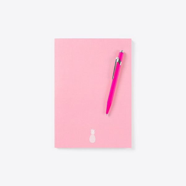Ananas Notizbuch Pink (Pineapple Idea Book Pink)