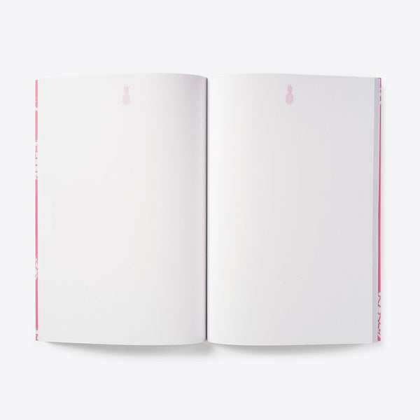 Pineapple Idea Book Pink