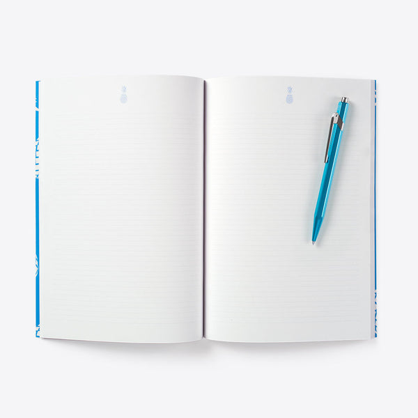 Ananas Notizbuch Blau (Pineapple Idea Book Blue)