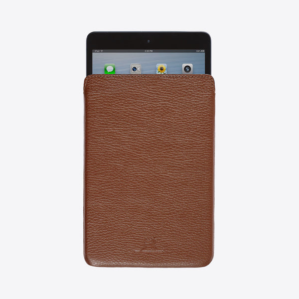 iPad Mini Leather Sleeve Brown