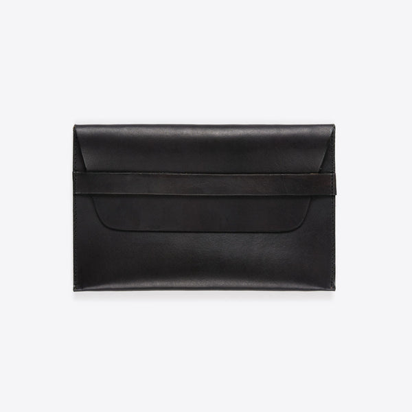 iPad Leather Envelope Black