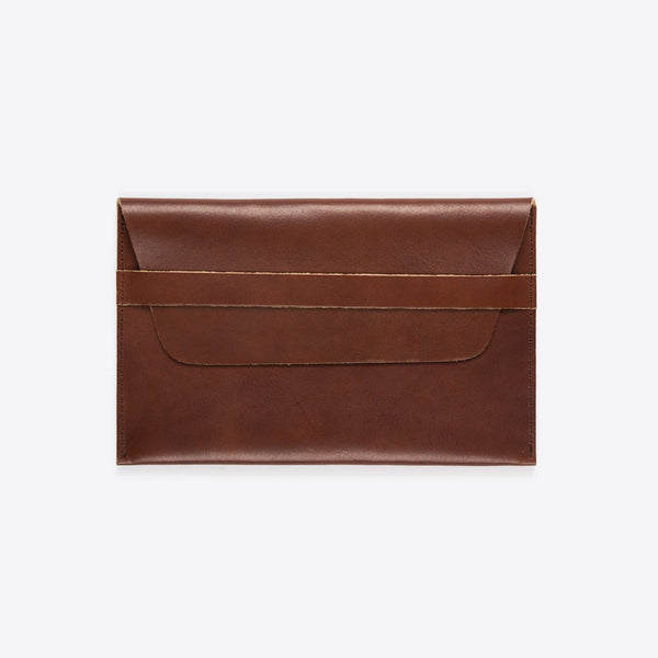 iPad Leather Envelope Brown