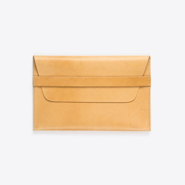 Lederhülle für iPad Natur (iPad Leather Envelope Natural)