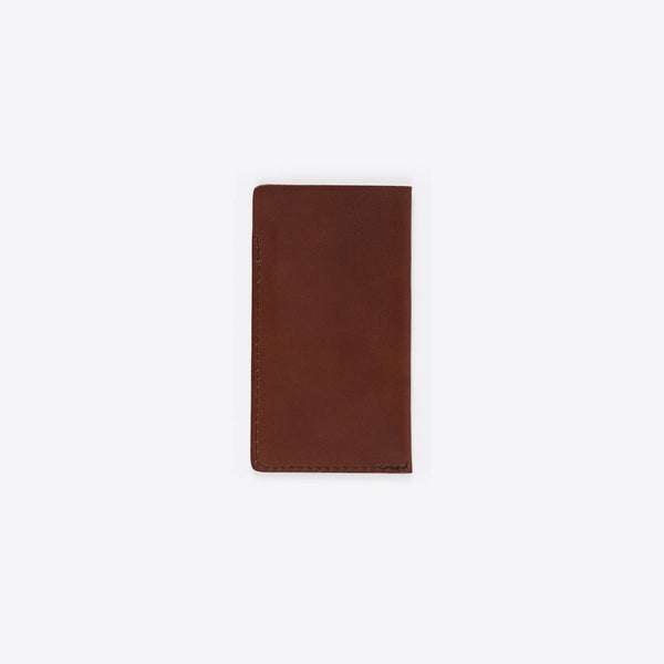 Lederhülle für iPhone Braun (iPhone Leather Envelope Brown)