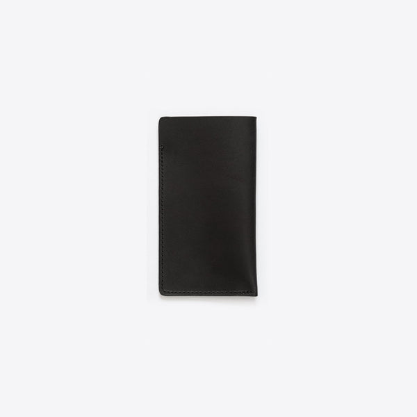 Lederhülle für iPhone Schwarz (iPhone Leather Envelope Black)