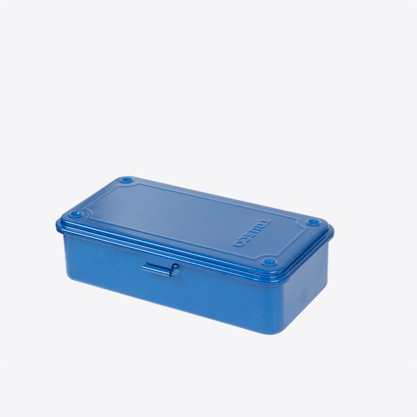 Stahlblech Büchse Blau (Trusco Japanese Supply Box Blue)