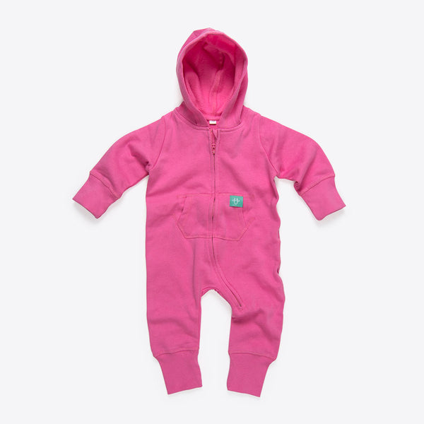 Baby Overall Pink (Baby Onesie Pink)