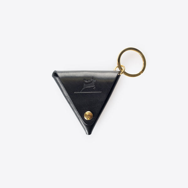 Leather Coin Pocket Black