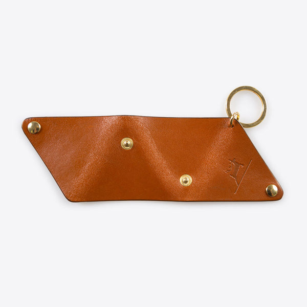 Leather Coin Pocket Brown