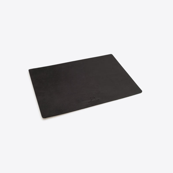 Leather Mousepad Black