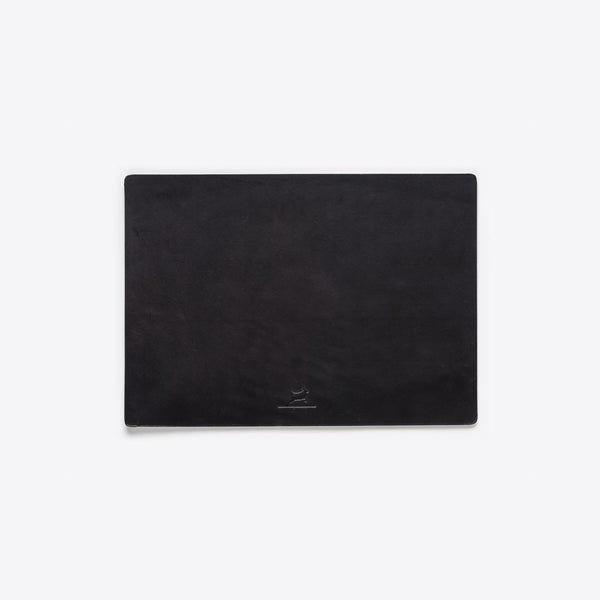 Mausunterlage aus Leder Schwarz (Leather Mousepad Black)