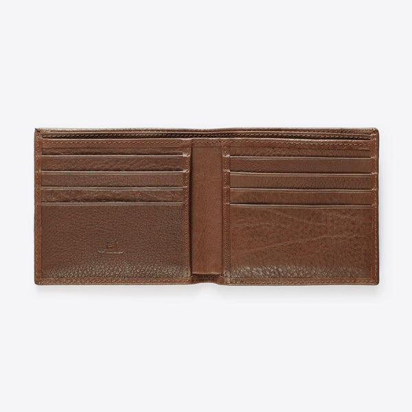 Leder Brieftasche Braun (Leather Wallet Brown)