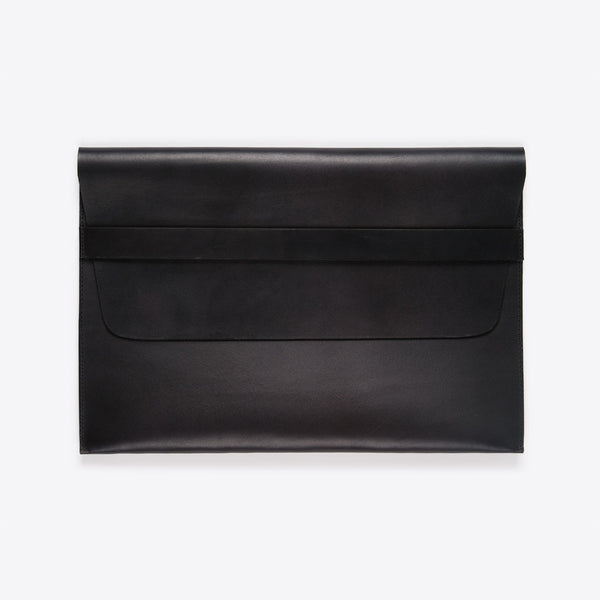 MacBook (Air /Pro) Leather Envelope Black