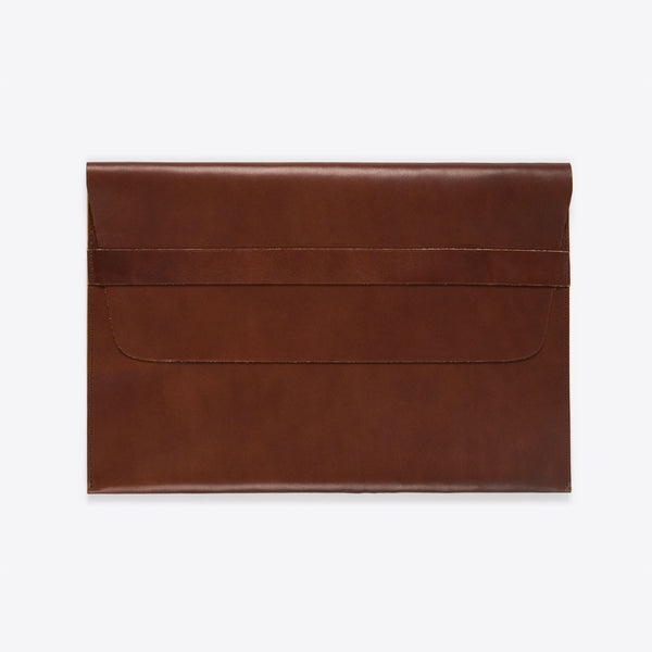 MacBook (Air /Pro) Leather Envelope Brown