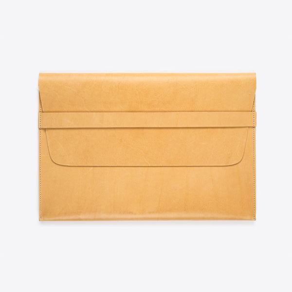 MacBook (Air /Pro) Leather Envelope Natural