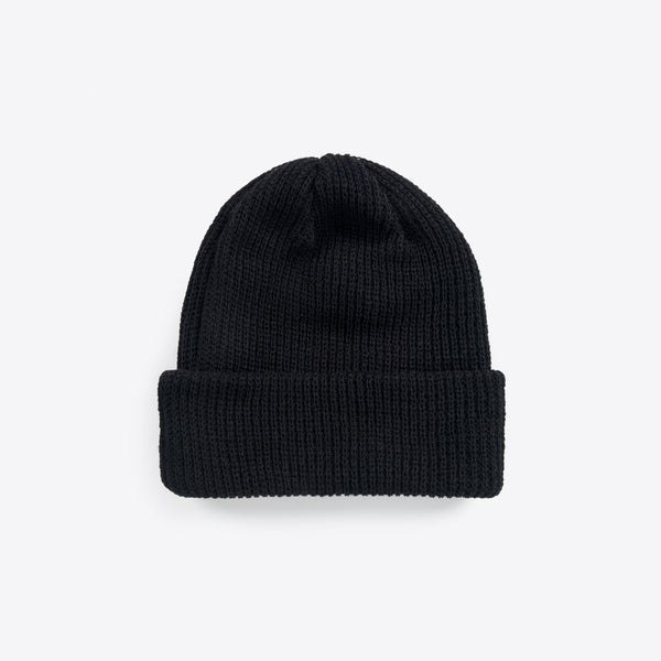 Merino Wool Beanies Black