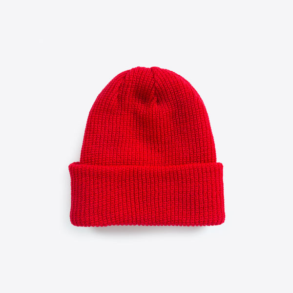 Merino Wool Beanies Red