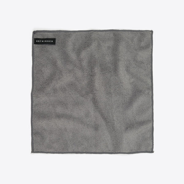 Mikrofaser Reinigungstuch Grau (Microfiber Cleaning Towel Grey)