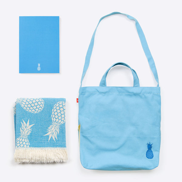 Ananas Ferien Set Blau (Pineapple Holiday Package Blue)