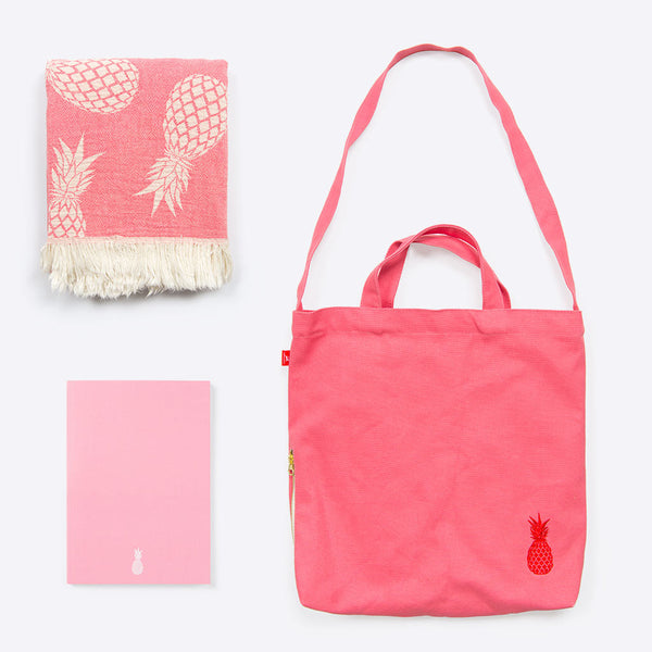Pineapple Holiday Package Pink