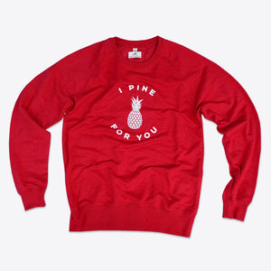 Ananas Pullover Rot-Clothing-Rothirsch-Rothirsch Online Shop