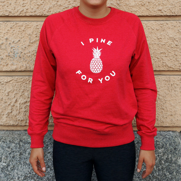 Ananas Pullover Rot (Pineapple Sweater Red)