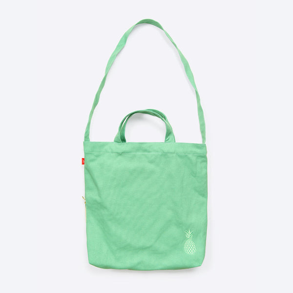 Ananas Freizeittasche Minze (Pineapple Waxed Cotton Shopper Mint)