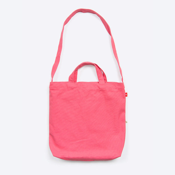 Pineapple Waxed Cotton Shopper Pink
