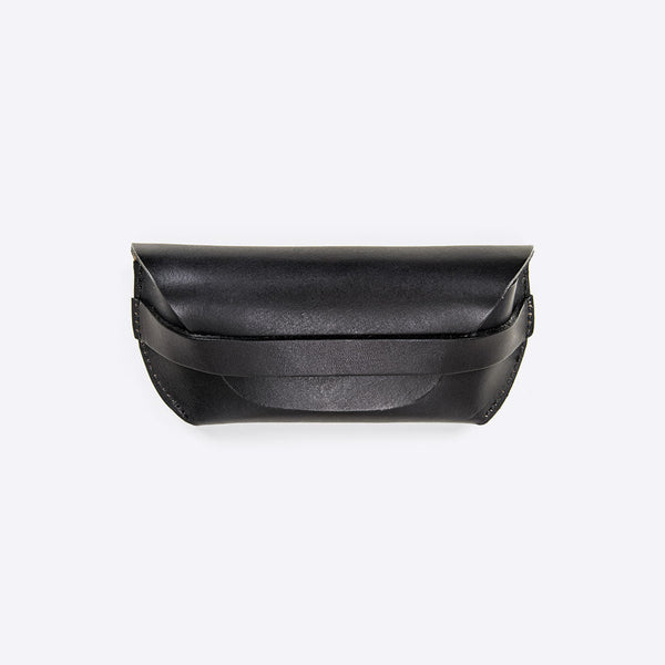 Sonnenbrillen Lederetui Schwarz (Sunglasses Leather Envelope Black)