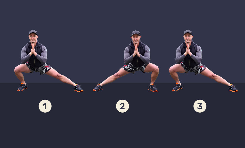 Side to side cossack squat