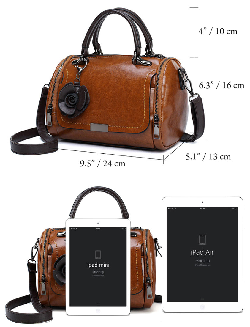 Women Small Handbag - Ladies Top-Handle Purse - Mini Shoulder Cross body Bag
