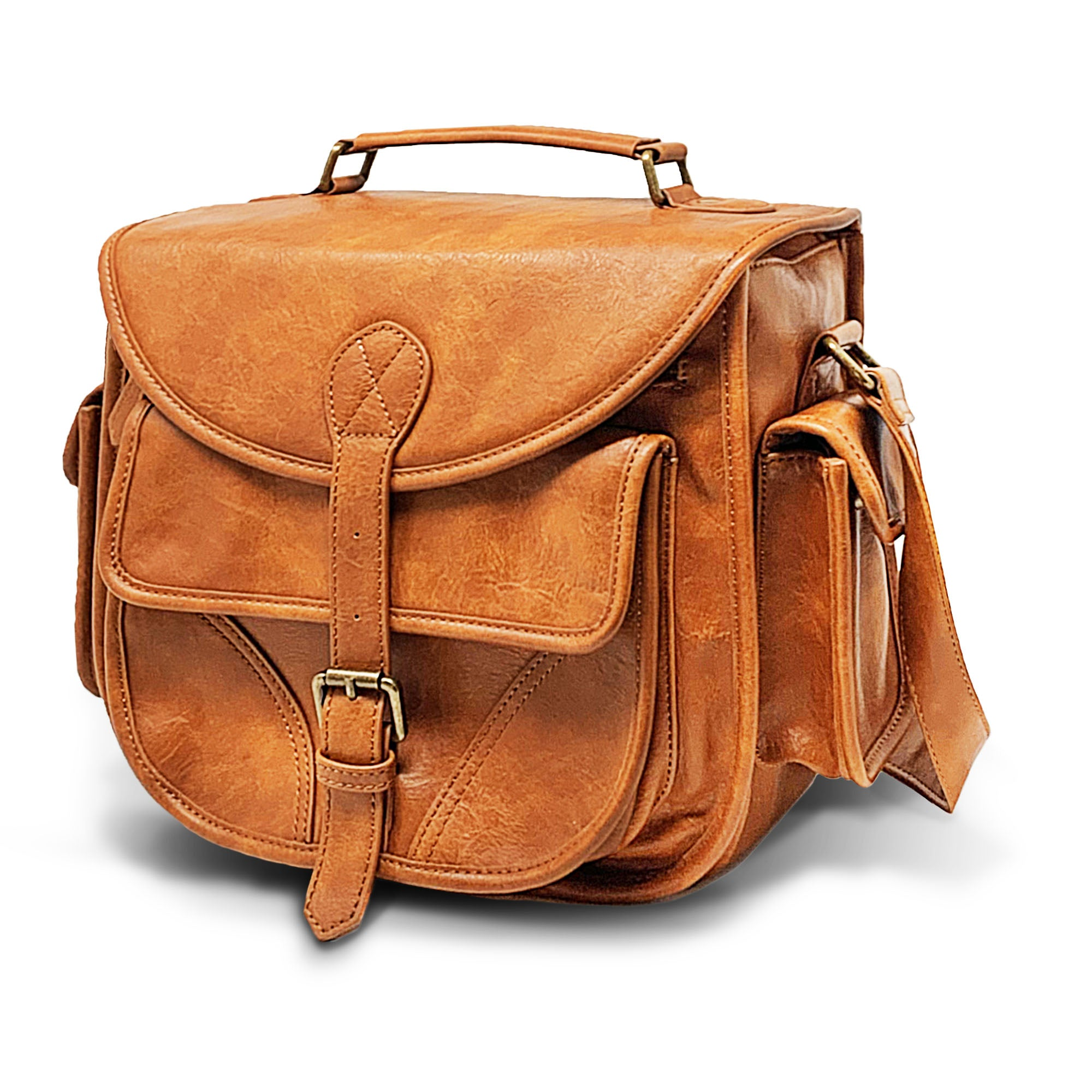 Vegan Leather DSLR Camera Bag