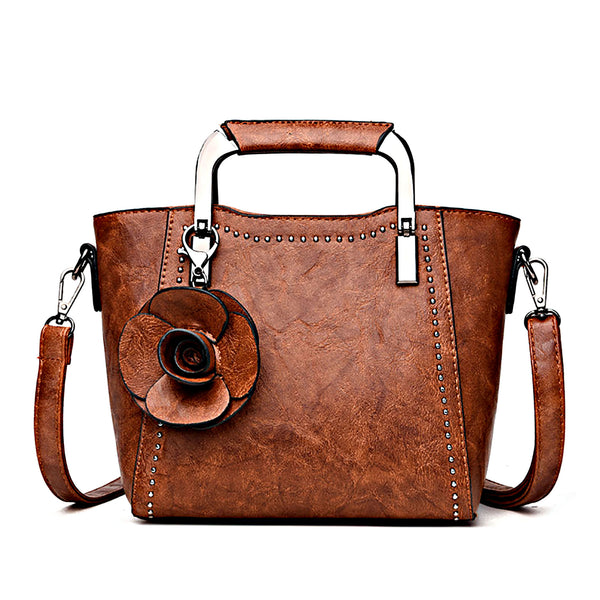 Vegan leather crossbody purses for women