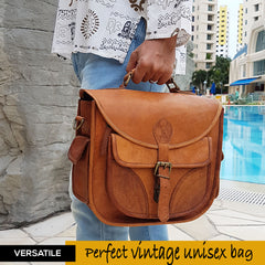 Top-Handle Vintage DSLR Bag for Men in 2019