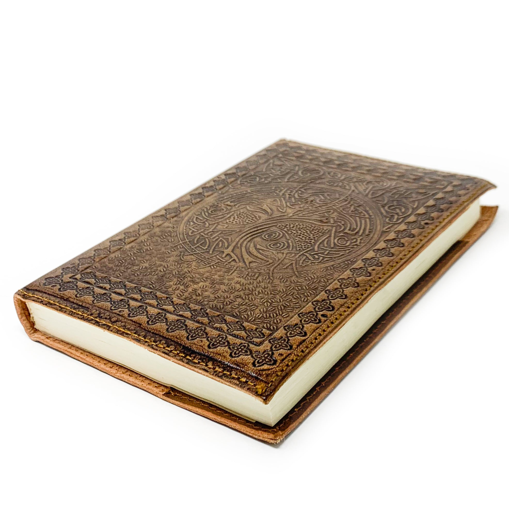 Leather Notebook Sleeve with Refill