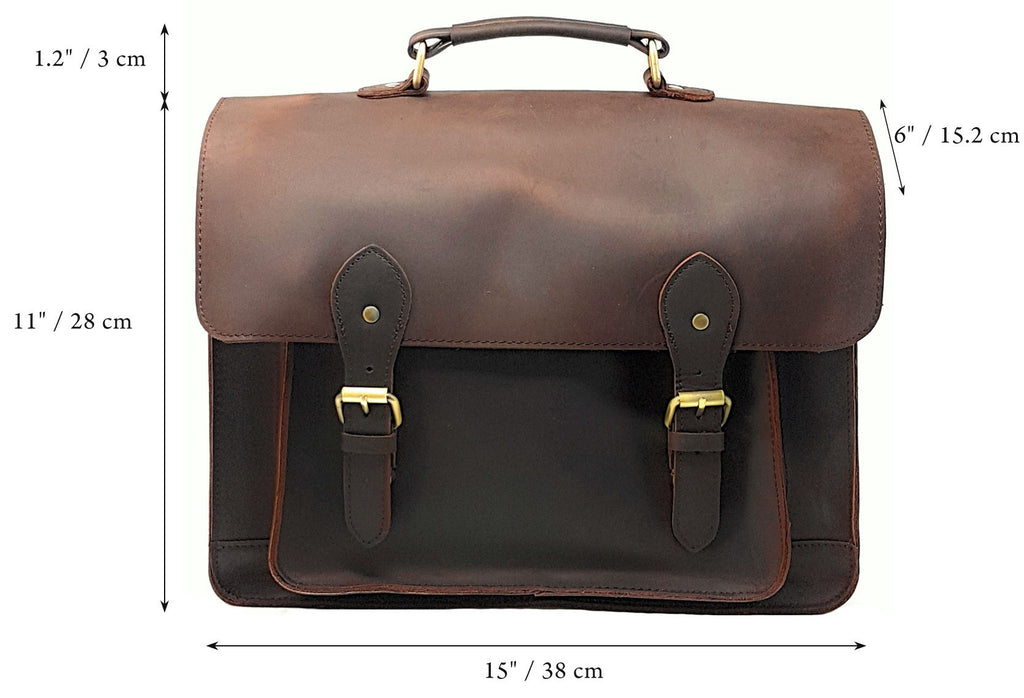 Camera Bags - Purple Relic: Real Leather Multi-Purpose Camera DSLR Bag; Office Briefcase With Padding Insert Divider;