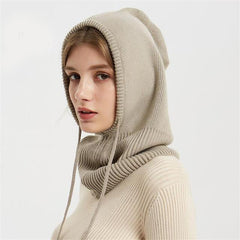 Hats & Caps - Winter Women Scarf Beanie ~ New Arrival ~ Woolen Headgear For Ladies