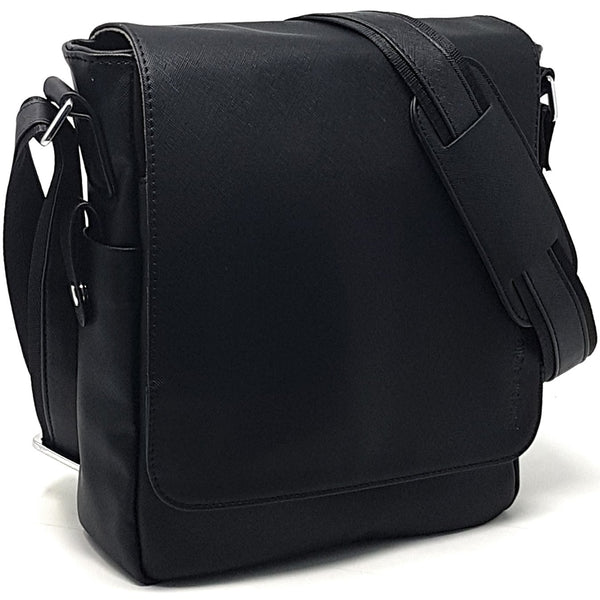 Leather Messenger Bag - 11-inch Man Bag ~ Tablet Laptop Messenger Satchel  Sling City c08c87bc527ee