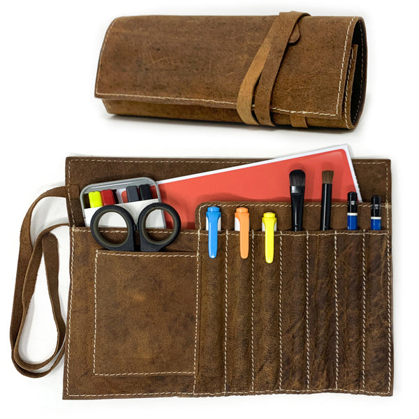 Roll-Up Stationery Organizer