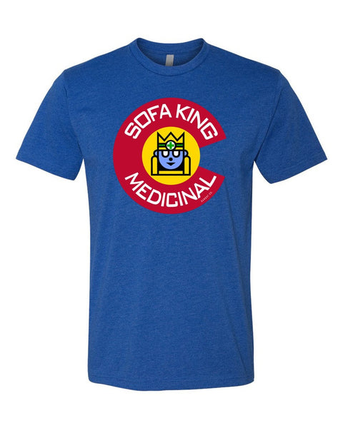 Sofa King Medicinal Colorado Logo T-shirt