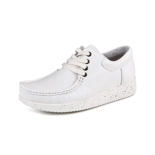 a92e28ca7f4 Nature Anna Leather 1001-001-001 sko white-Nature-Hoofers - We