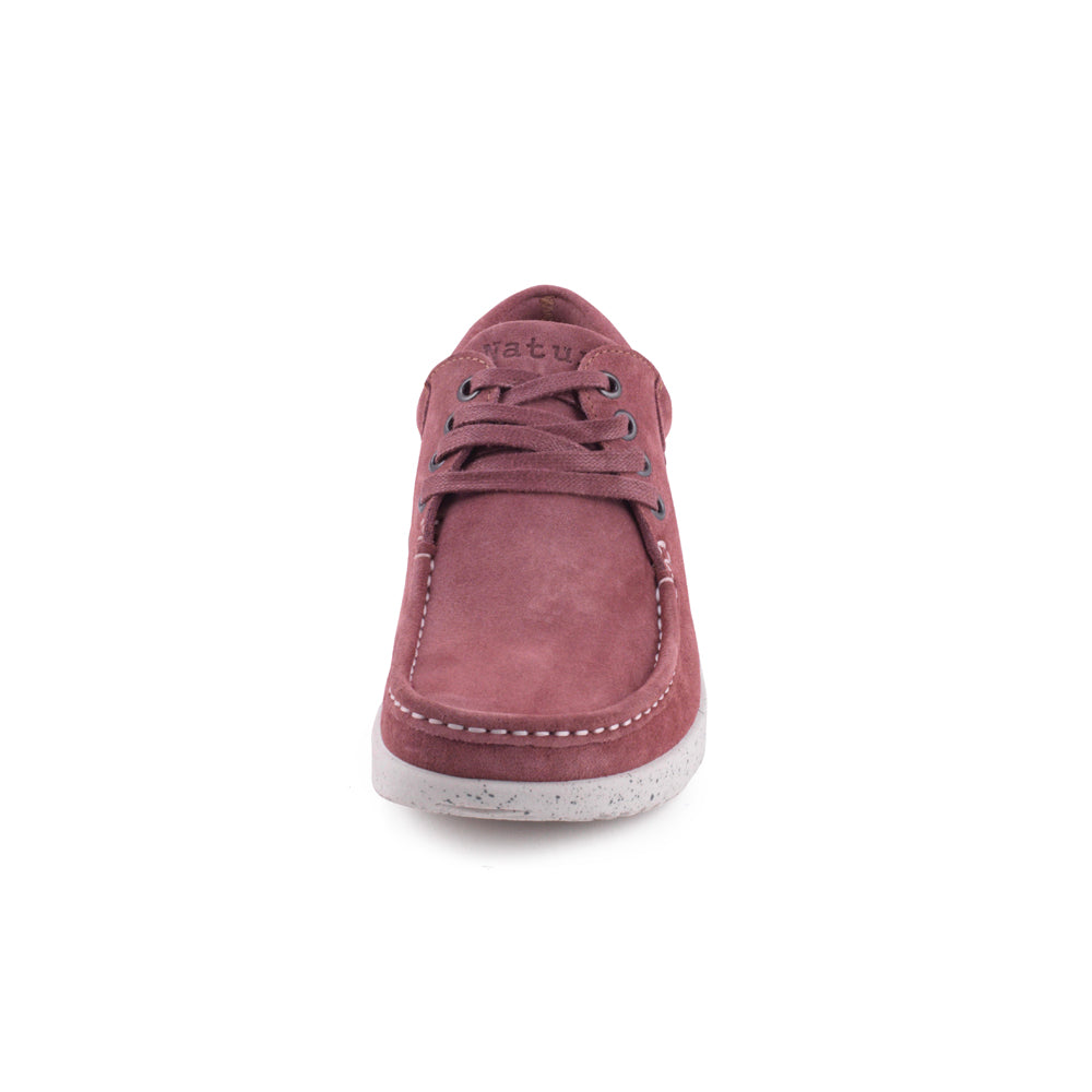Nature Anna Suede sko rosa-Nature-Hoofers - We love shoes
